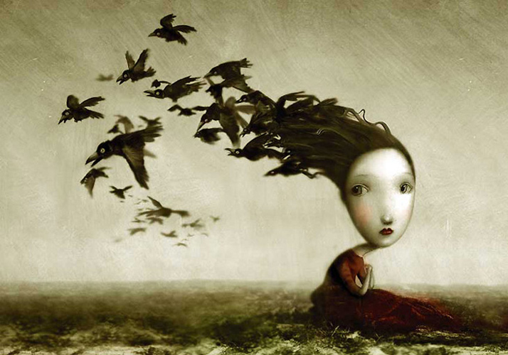 Beautiful Nightmares The Angelic Art Of Nicoletta Ceccoli Stephen
