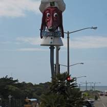 """Doggie Diner"" Ocean Beach"