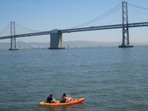 Canoes In San Francisco Bay