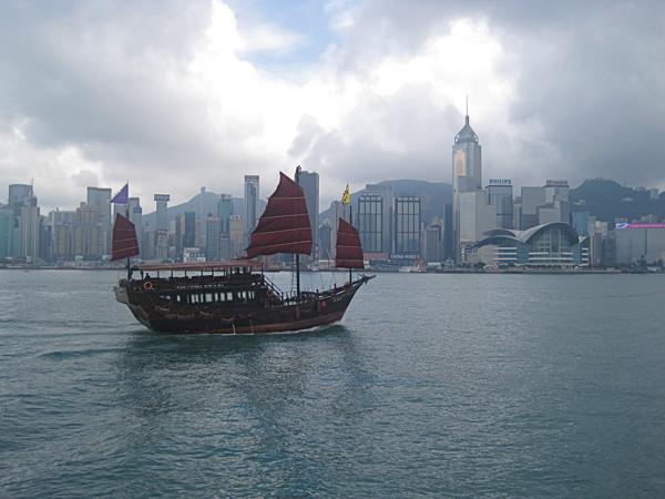 Junks In Hong Kong