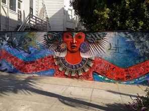 At Sanchez and 16th Sts., Castro