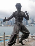 Bruce Lee in Kowloon, Hong Kong