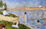 Bathers In The Water