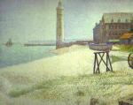 Hospice and Lighthouse, Honfleur