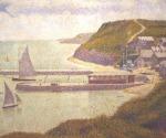 Port-en-Bessin, Outer Harbour at High Tide