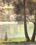 Seine at Courbevoie