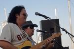 Guitarist Monroe Grisman and singer Dan Durkin
