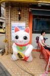 A big cat in Tokyo