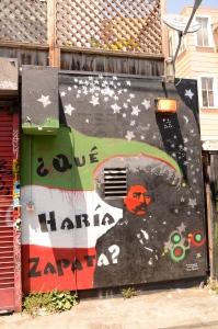 Que Haria Zapata? on Clarion Alley