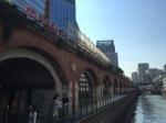 Maach eCute building along the Kanda-gawa River