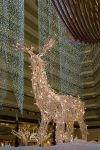 Illuminous Reindeer, Hyatt Embarcadero