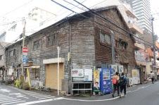 Wooden structure in Umeda